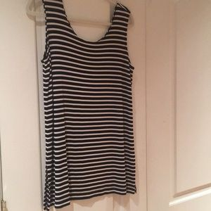 Chico's tank tunic with side slits Size 2